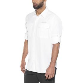Columbia Silver Ridge II Camiseta de manga larga Hombre, white
